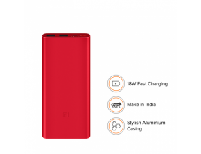 10000mAh Mi Power Bank 2i Red