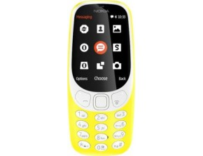 Nokia 3310 DS (Yellow)